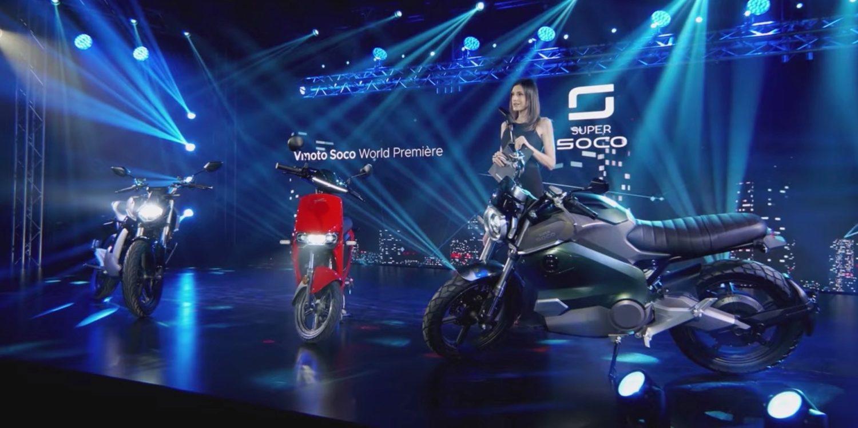 Super Soco 2021 World Premiere